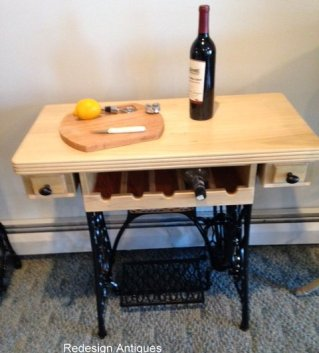 1-wine rack maple